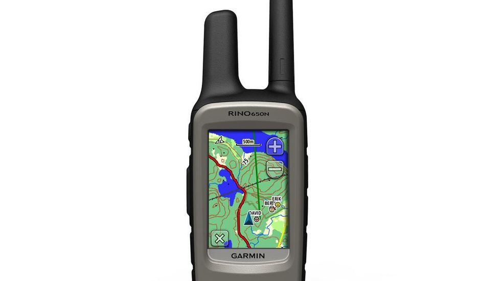 Garmin rino 650 test