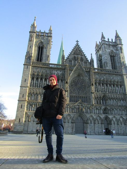 bf00744f My favourite monument in Trondheim: The Nidaros Cathedral is one of the  first monuments that we visited in Trondheim. Its Gothic architecture  simply ...