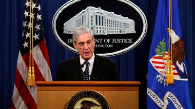 FILE - In this May 29, 2019, file photo, special counsel Robert Mueller speaks at the Department of Justice in Washington, about the Russia investigation. (AP Photo/Carolyn Kaster, File)                       (Foto: Carolyn Kaster)