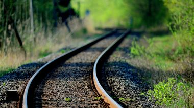 Togskinner. Togreise. Retning. På vei mot.  Long distance of railroad tracks. Foto: Frank May / NTB scanpix                       (Foto: Frank May)