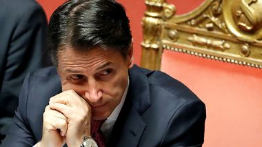 Italian Prime Minister Giuseppe Conte attends a session of the upper house of parliament over the ongoing government crisis, in Rome, Italy August 20, 2019. REUTERS/Yara Nardi                      (Foto: YARA NARDI)