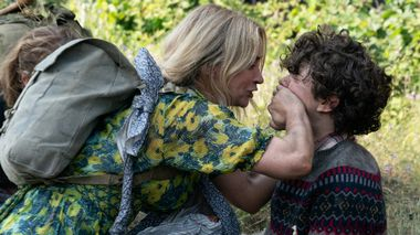 Evelyn (Emily Blunt) and Marcus (Noah Jupe) brave the unknown in