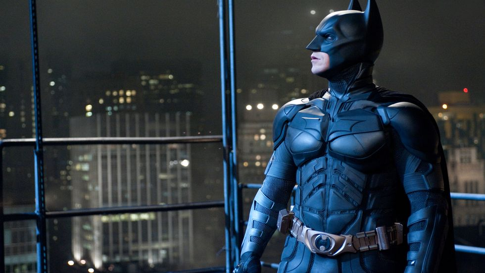 Christian Bale gestalter Batman for tredje og siste gang i «The Dark Knight Rises». (Foto: SF Norge AS)