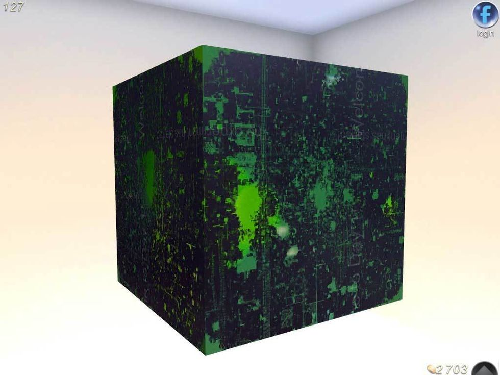 Nr. 4 Curiosity - What`s inside the cube?