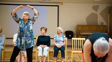 Sprek: Margit Ryum (80) mener dansen holder henne i god form.